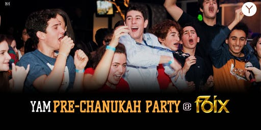 YAM: Pre-Chanukah Party