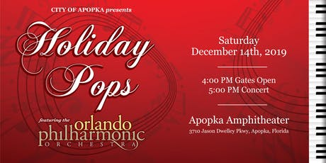 Holiday Pops-Featuring  the Orlando Philharmonic Orchestra tickets