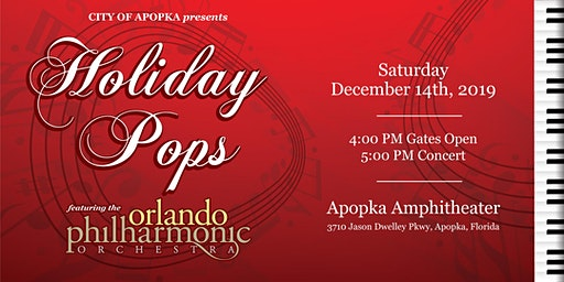 Holiday Pops-Featuring  the Orlando Philharmonic Orchestra