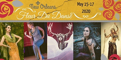 Zoe Jakes Presents...Fleur Du Danse 2020:A New Orleans Belly Dance Festival