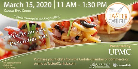 Taste of Carlisle tickets