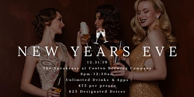 New Years Eve At Canton Brewing Company