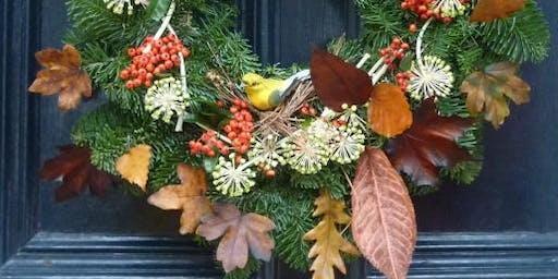 Fun Christmas Wreath Making Workshop