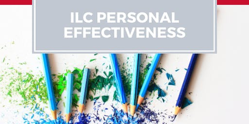 ILC Personal Effectiveness Workshop