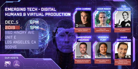 Emerging Tech - Digital Humans & Virtual Production tickets