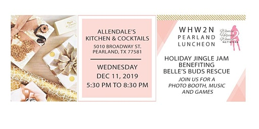 WHW2N Pearland (Luncheon) Evening Holiday Mixer