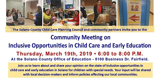 Inclusive Opportunities in Child Care and Early Education