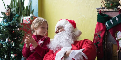 Holiday Walk (Santa Visit) in the Irving Austin Business District