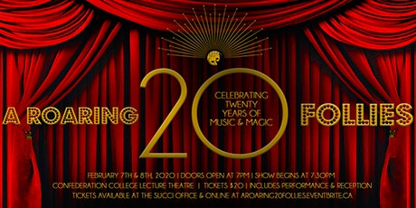 A ROARING 2O FOLLIES - CCPAC 20th Anniversary Celebration tickets