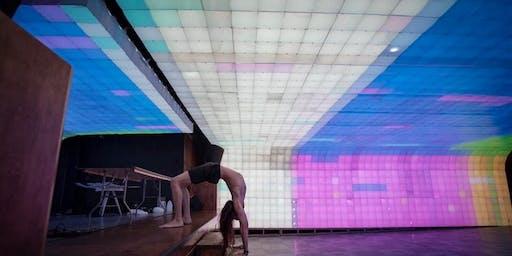 """Yoga under Ian Brill's """"Vault"""""""