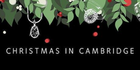 Christmas at Harriet Kelsall Bespoke Jewellery Cambridge Studio tickets