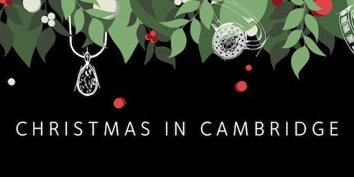 Christmas at Harriet Kelsall Bespoke Jewellery Cambridge Studio