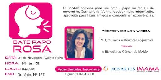 Bate Papo Rosa IMAMA  - Novartis - A Biologia do Câncer de MAMA