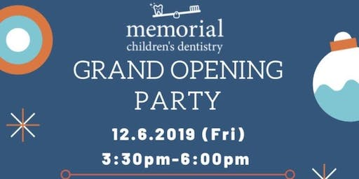 Memorial Childrens Dentistry grand opening party