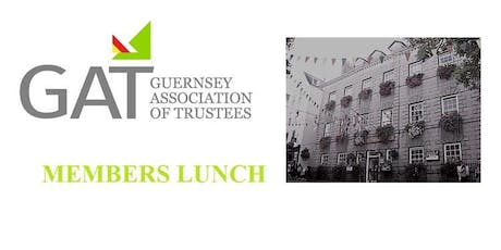 GAT Members Luncheon Wednesday 8th January 2020 tickets