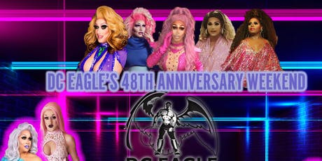 Our 48th Anniversary - FRIDAY - Birds of Prey Drag Show & Dance Party tickets