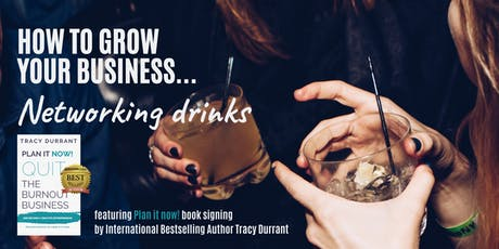How to grow  your business...FREE Networking Drinks tickets