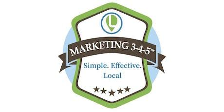 Marketing 3-4-5™ Workshop at William Jessup University -  tickets