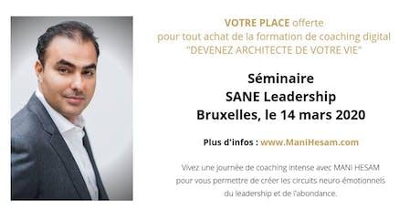 Séminaire Mani Hesam, Devenez Architecte de votre vie , à Bruxelles entradas
