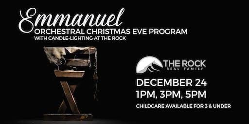 """Emmanuel"" 3pm Christmas Eve Service"