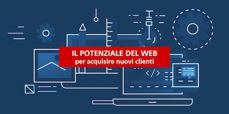 Il Potenziale del Web per acquisire nuovi clienti biglietti