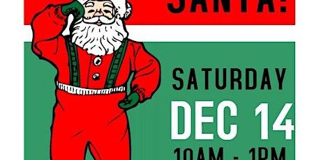 Santa will be here! tickets