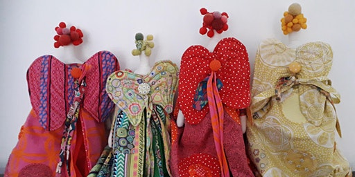 Spring Angels! A Creative Textiles and Embroidery Workshop