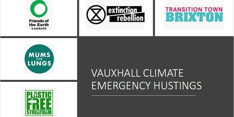 Vauxhall Climate Emergency Hustings tickets
