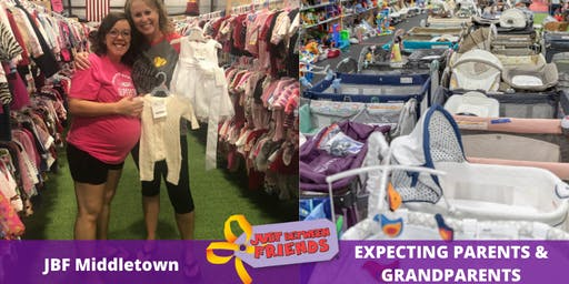 Expecting Parents & Grandparents Presale| April 1st | JBF Middletown Spring 2020 | Mega Children's Sale event