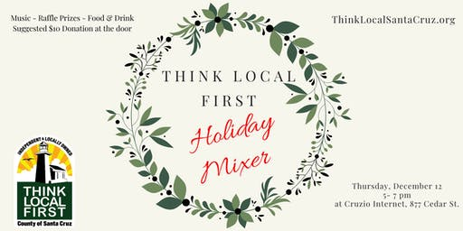 Think Local First Holiday Mixer