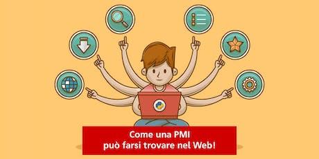 Come una PMI può farsi trovare nel web! biglietti