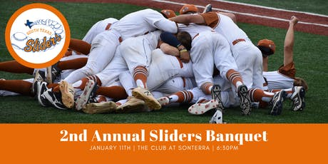 2nd Annual Sliders Banquet tickets