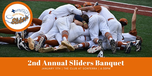 2nd Annual Sliders Banquet