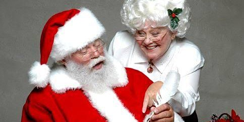 Breakfast with Santa and Mrs Claus