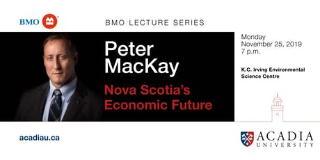 BMO Lecture Series - Peter MacKay tickets