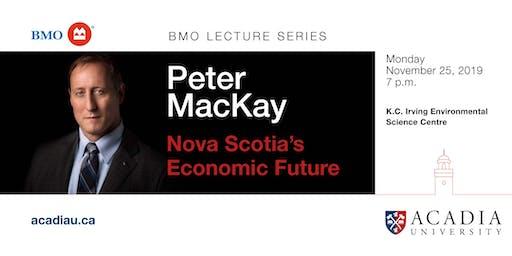 BMO Lecture Series - Peter MacKay