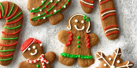 Ginger Bread Cookie Decorating tickets