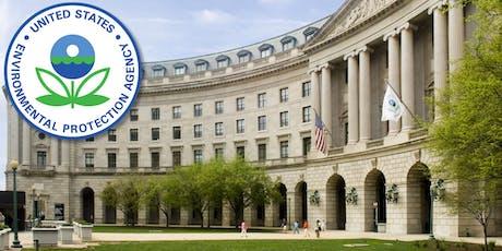 U.S. EPA: TSCA New Chemicals Program Public Meeting tickets