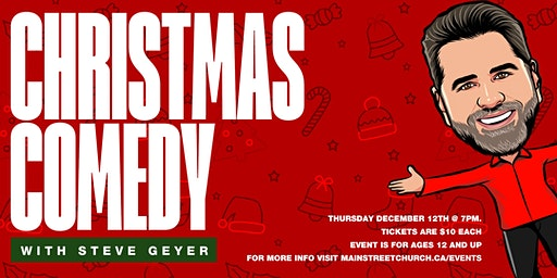 Christmas Comedy Night with Steve Geyer