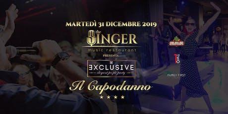 Capodanno 2020 - The Singer Milano biglietti