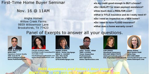 Free - First-Time Home Buyer Seminar