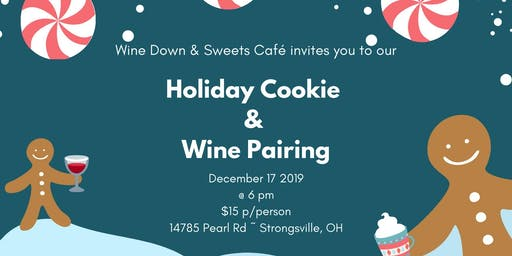 Holiday Cookie & Wine Pairing