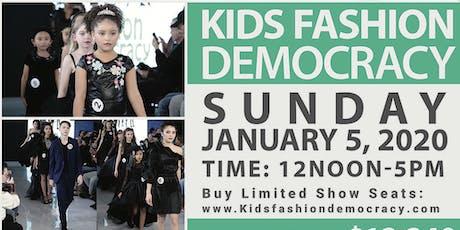 KIDS FASHION DEMOCRACY 2020 WINTER SHOW IN NEW YORK CITY tickets