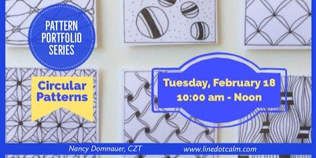 Pattern Portfolio: February Class tickets