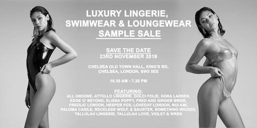 Luxury Lingerie, Swimwear & Lougewear Sample Sale