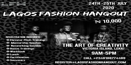 Lagos Fashion Hangout 2020 tickets