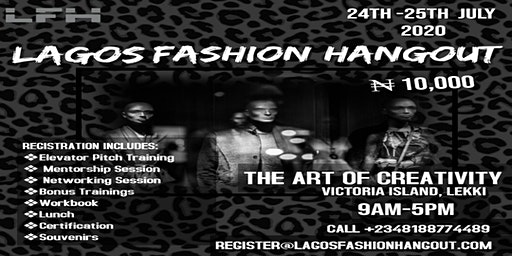 Lagos Fashion Hangout 2020