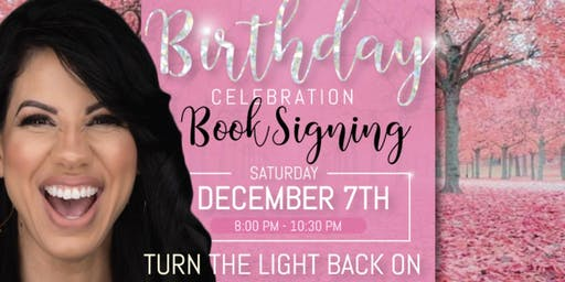 Michelle Kirby's BIRTHDAY BOOK SIGNING drop-in