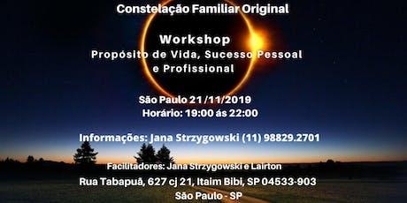 Workshop de Constelações Familiares Original Hellinger ingressos