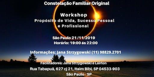 Workshop de Constelações Familiares Original Hellinger
